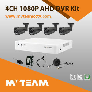 4CH H. 264 DVR 1080P CCTV Camera Kit (MVT-K08EH) pictures & photos
