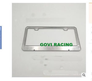 Metal Car License Plate Frame 315X160mm with Stainless Steel America Standard pictures & photos