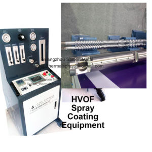 Extruder Screw Maintenance Tungsten Coating Machine Wear Resistance Anti Corrosion Solution Hvof Surface Coating Equipment
