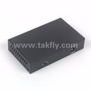 5 Ethernet Port 100Mbps Fiber Optical Poe Switch pictures & photos