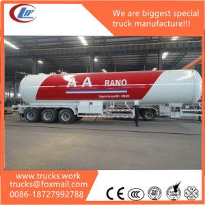 60cbm 3 Axles LPG Storage Tank Trailer for Sale pictures & photos