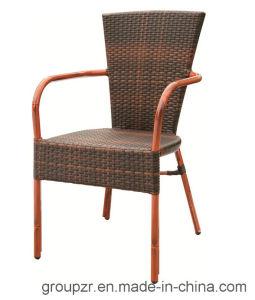 PE Rattan + Aluminium Imitation Banboo Grain Chair pictures & photos
