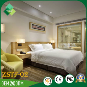 Natural Chinese Style Hotel Apartment Bedroom Furniture for Sale (ZSTF-02) pictures & photos