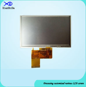 550CD/M2 Brightness 5.0 Inch TFT LCD Screen with Resistive Touch Panel pictures & photos
