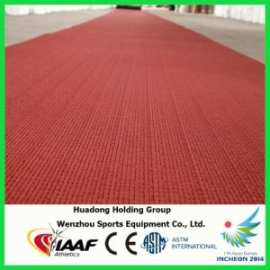 Iaaf Certified Prefabricated Rubber Running Track for 400 Meters Standard Sports Field pictures & photos