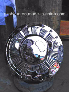 Sculpture Stainless Steel Panda Embossed with Stainless Steel Metal Products pictures & photos