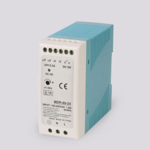 Mdr-60-24   60W 24V Single Output DIN Rail Power Supply pictures & photos