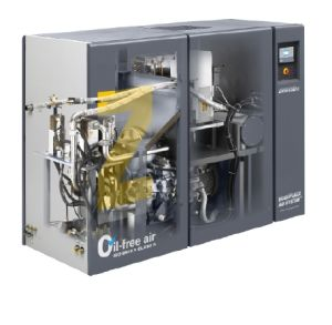 Atlas Copco Oil Free Rotary Air Compressor (ZR37VSD) pictures & photos