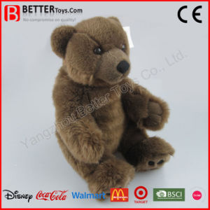 Realistic Stuffed Animal Soft Toy Plush Bear Gift pictures & photos