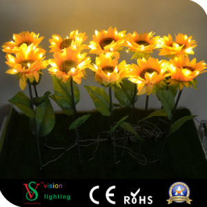 Holiday Outdoor Decoration LED Sunflower pictures & photos