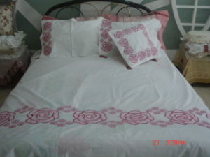 Bedding Sheet Sets of 200tc, 300tc, 400tc, 500tc Organic pictures & photos
