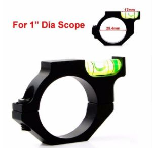 "Alloy Rifle Scope Laser Bubble Spirit Level for 25.4mm 1"" Tube Holder Ring Mount pictures & photos"