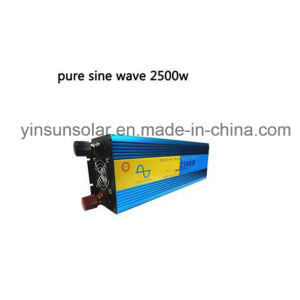 2500W Pure Sine Wave Inverter Equipped with European Standard Plug pictures & photos