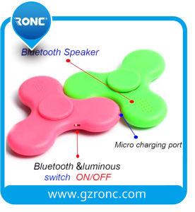 Hot Selling Bluetooth Speaker LED Light Hand Finger Fidget Spinner pictures & photos