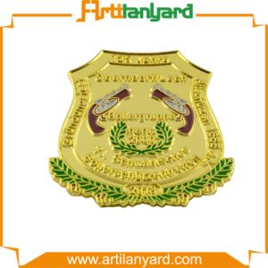 Customized Wholesale Metal Police Badge pictures & photos