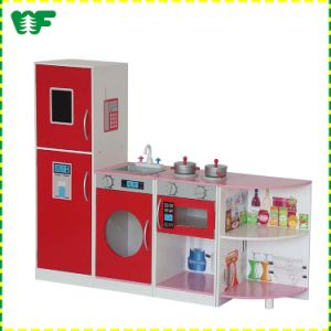 Hot New Products Kids Wooden Toy Kitchen Play Set pictures & photos