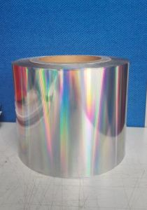 Vacuum Metallized Hologram Film pictures & photos