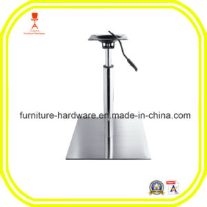 Standard Furniture Hardware Parts Dining Table Base Leg with Adjustable Height pictures & photos