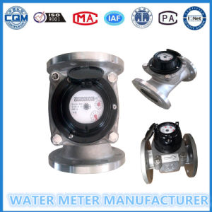 Turbin Water Flow Meter in Stainless Steel Body Shell Dn50-200 pictures & photos