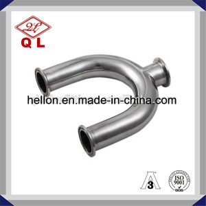 Sanitary Stainless Steel 45 Degree Bend Elbow pictures & photos
