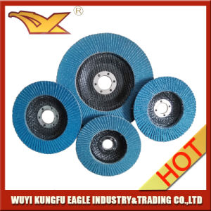 100X16mm Zirconia Alumina Oxide Flap Abrasive Discs (Fibre Glass Cover 22*14mm) pictures & photos