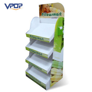 4 Shelves Cardboard Pillow Display Units for Retail Sale pictures & photos