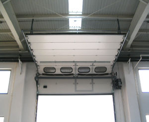 Automatic Warehouse Overhead Roller Shutter Doors with High Quality From China (Hz-SD014) pictures & photos
