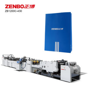 Automatic Sheet Feeding Paper Bag Machine (ZB1200C-430) pictures & photos