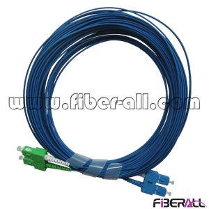Sm Duplex Optical Fiber Jumper Blue Color Sc to Sc pictures & photos