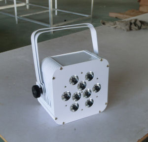 Cheap Price 9PCS Rgbawuv LED PAR Light Battery Powered Wireless