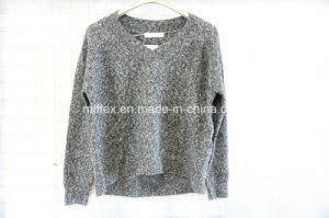 V Neck Long Sleeve Sweater for Women pictures & photos