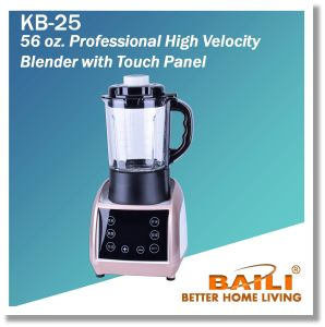56 Oz. Professional High Velocity Blender with Touch Panel pictures & photos