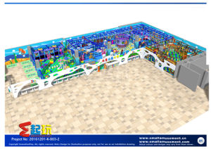 Wonderful Undersea Themed Indoor Playground Equipment pictures & photos