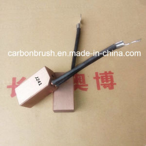 J241 Metal Carbon Brush for Synchronous Machines pictures & photos
