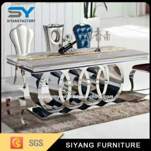 High Quality Hotel Furniture Wedding Banquet Marble Dining Table pictures & photos