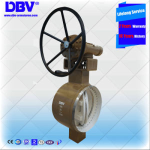 Ce Approval Wcb Butt Welding Type Butterfly Valves