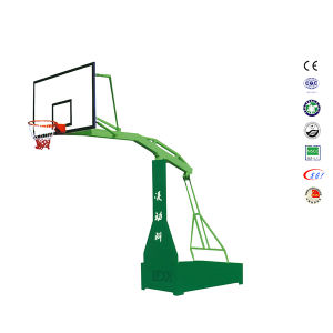 Outdoor SMC Backboard Steel Base Moveable Basketball Stand for Club pictures & photos