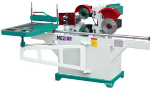 Single Head 5 Saw Blades Tenon Cutting Machine for Wood pictures & photos