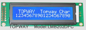 20X2 Character LCD Module Alphanumeric COB Type LCD Display (LMB202D) pictures & photos