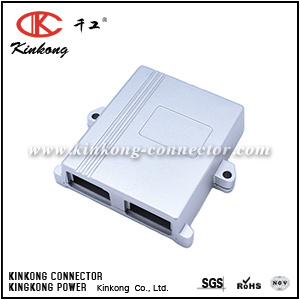 Automotive ECU PCB Aluminum Enclosure Box for 24 Pin Connectors pictures & photos