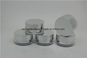 Small Empty Skin Care Plastie Cream Jar for Cosmetic pictures & photos