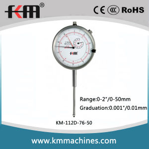 0~50mm/ 0~2in Metric&Inch Dial Indicator Professional Supplier pictures & photos