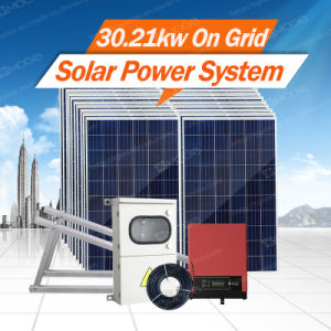 Morege 2kw-30kw Grid Tie Solar Energy System with Low Price pictures & photos
