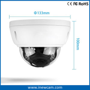 Hot Waterproof 4X Zoom 4MP IR Poe Dome IP Camera pictures & photos