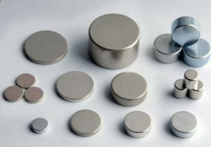 Cheap Wholesale N35 Zinc Plated Disk Neodymium Magnets for Sale pictures & photos