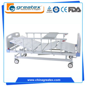 Double Function Hospital Manual Bed pictures & photos