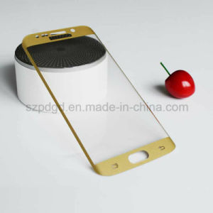 3D 9h Curved Edge Tempered Glass Screen Protective Film for Samsung S6 Edge Screen Guard pictures & photos