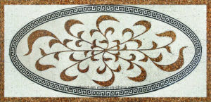 Wall/Floor Art Natural Marble Pattern Mosaic 1200X1800mm pictures & photos