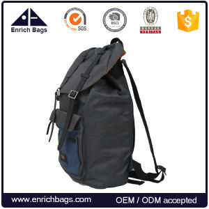 Leisure Backpack Travel Bag with Drawstring Top pictures & photos