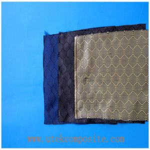 100cm Width Colorful Carbon Jacquard Fabric pictures & photos